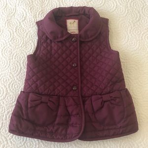 💜Toddler girls Gymboree vest 3T 💜